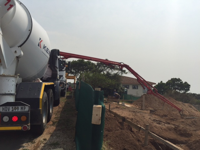 On site Concrete Pumping